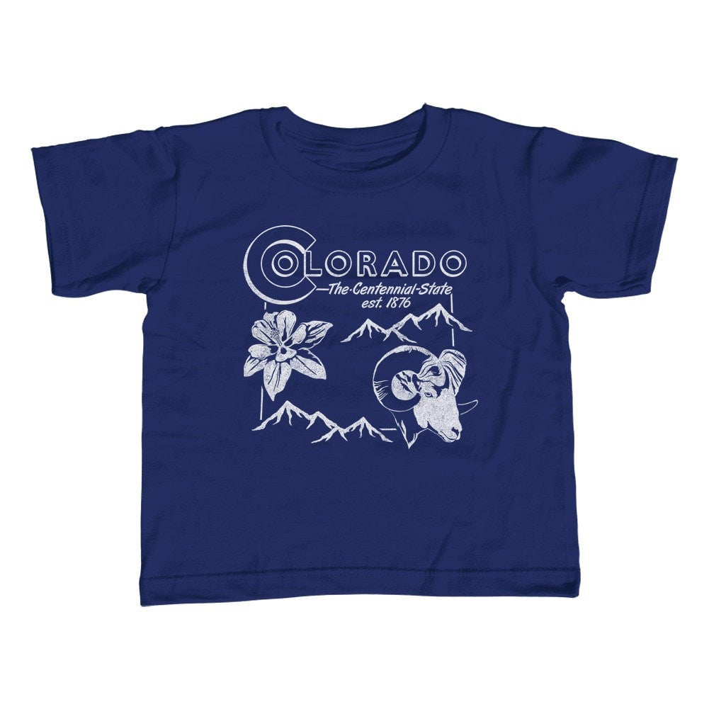 Girl's Vintage Colorado State T-Shirt - Unisex Fit