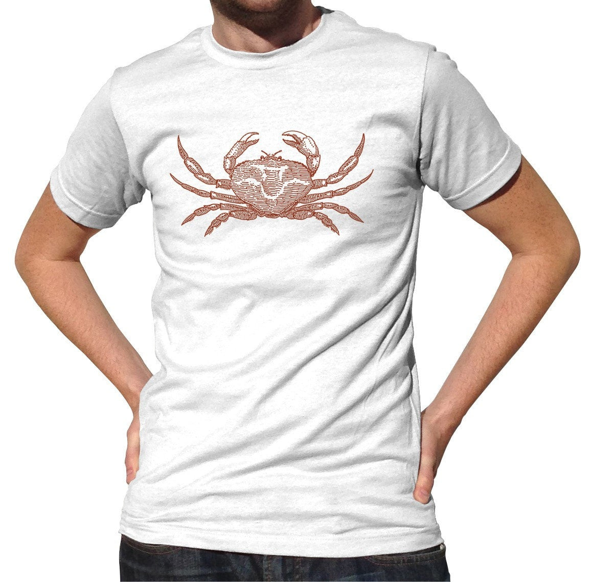 Men's Crab T-Shirt Cancer Zodiac Beach