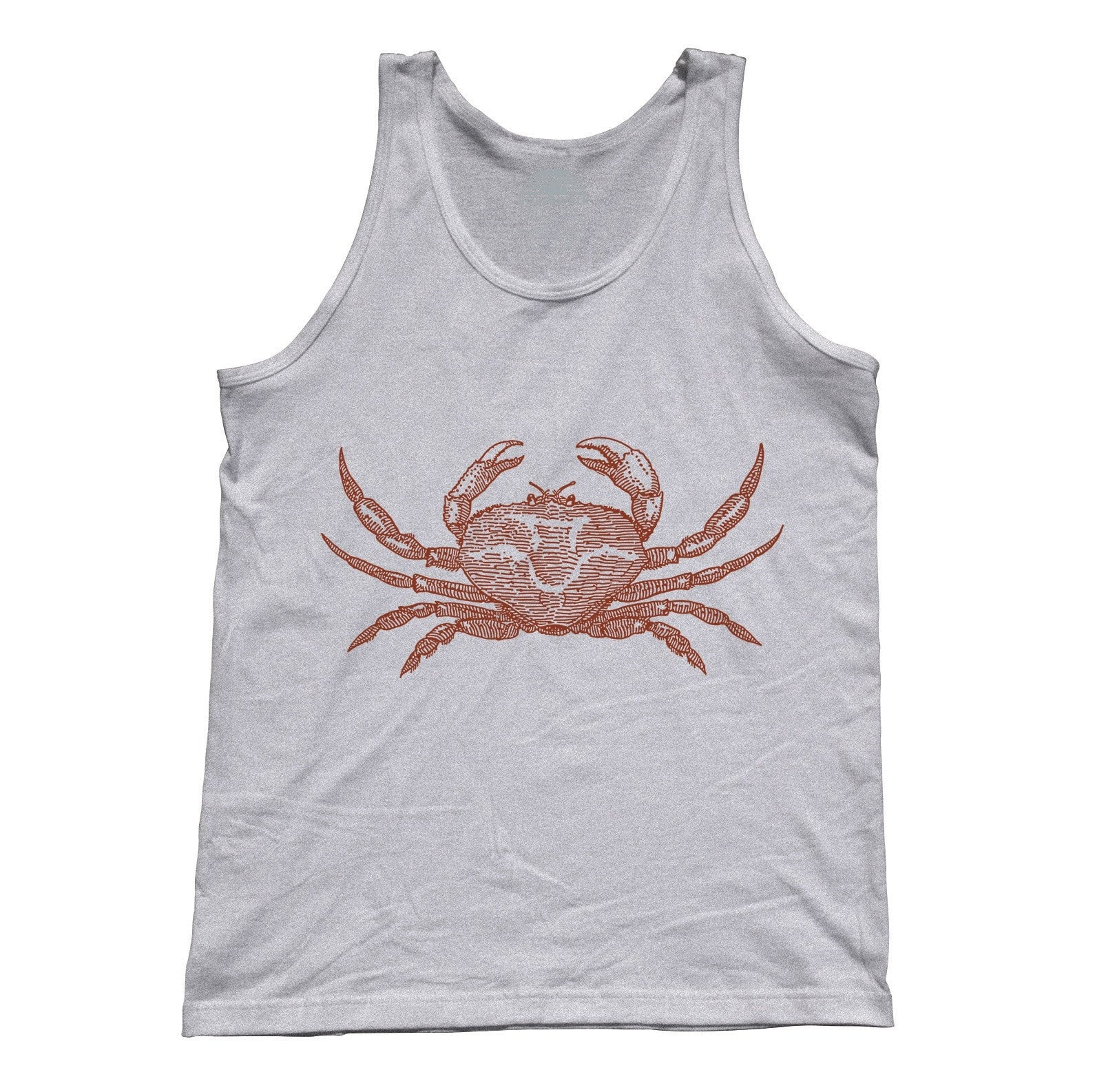 Unisex Crab Tank Top Cancer Zodiac Beach
