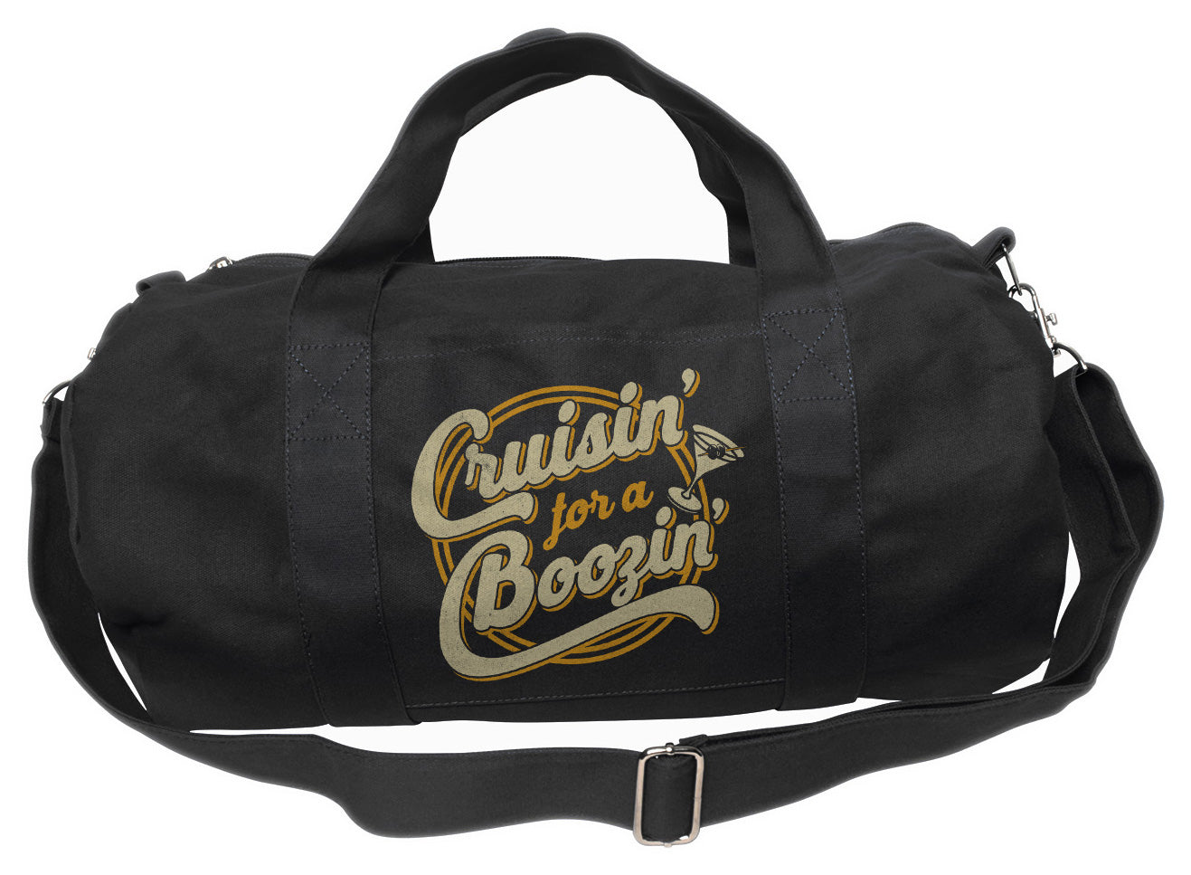 Cruisin for a Boozin Duffel Bag