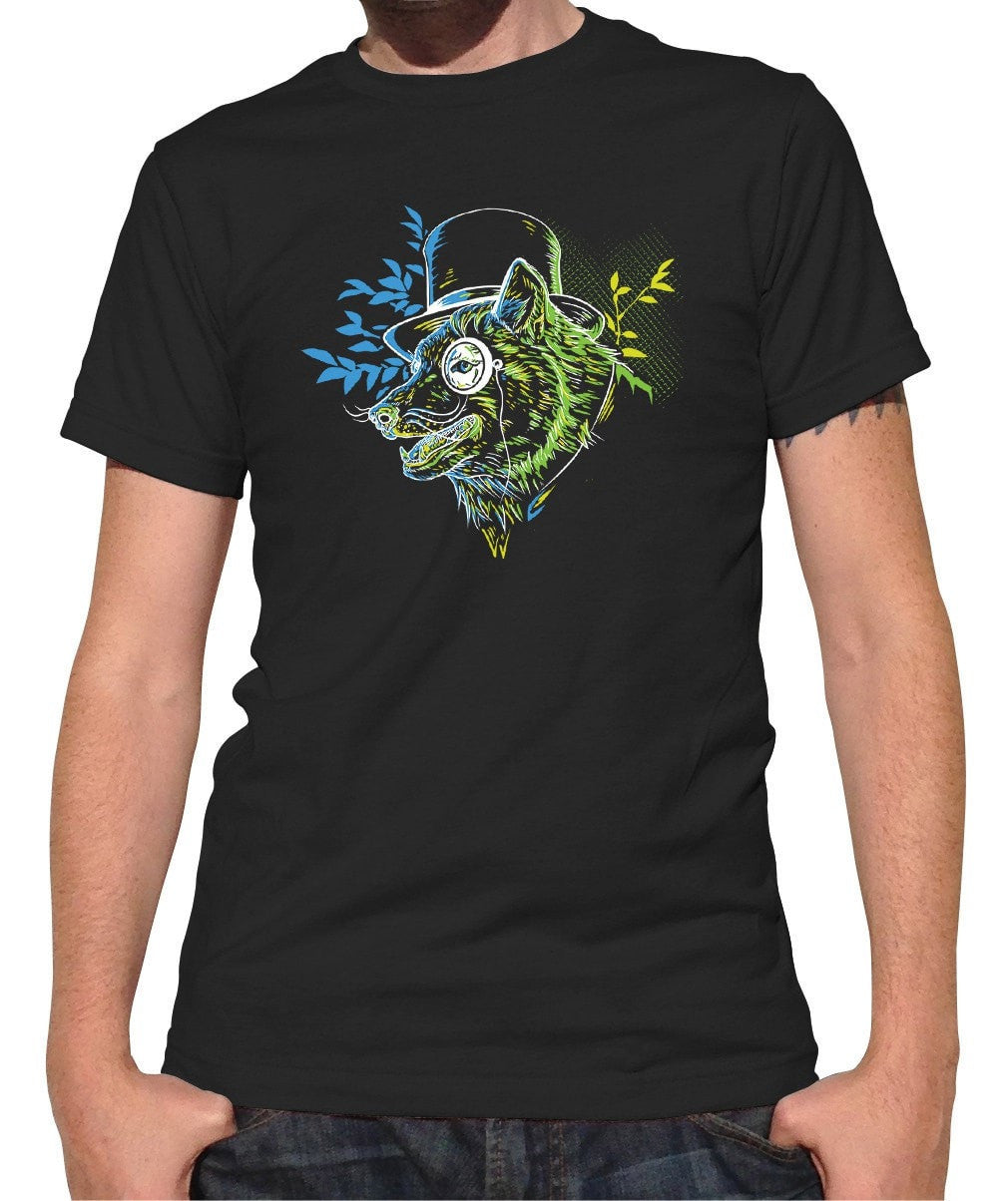 Men's Steampunk Wolf T-Shirt