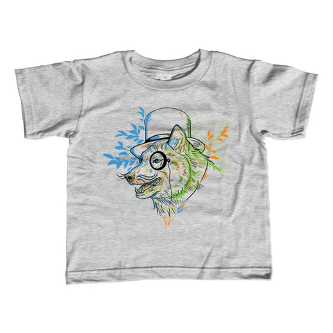 Boy's Steampunk Wolf T-Shirt