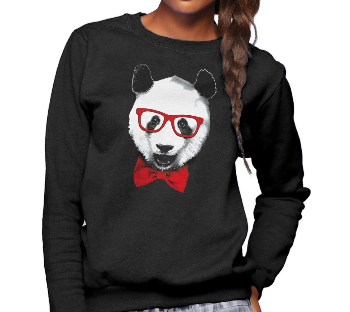 Unisex Fancy Panda With Glasses Sweatshirt