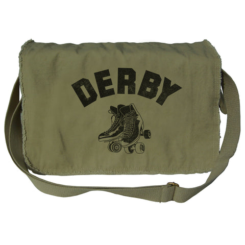 Roller Derby Messenger Bag
