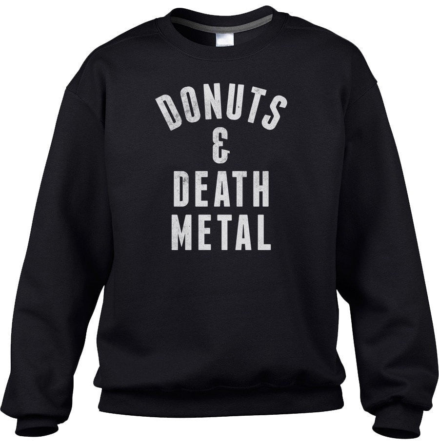 Unisex Donuts and Death Metal Sweatshirt