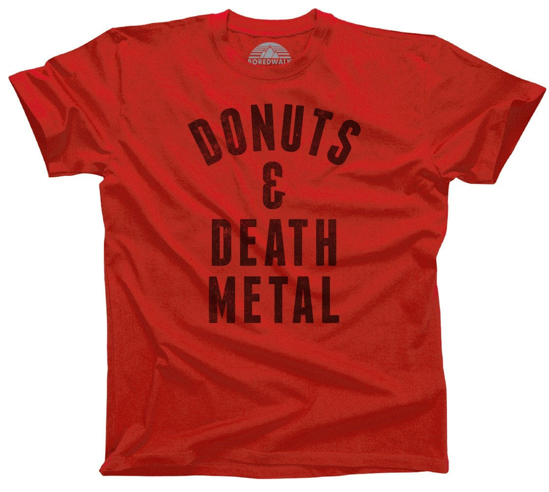 Men's Donuts and Death Metal T-Shirt