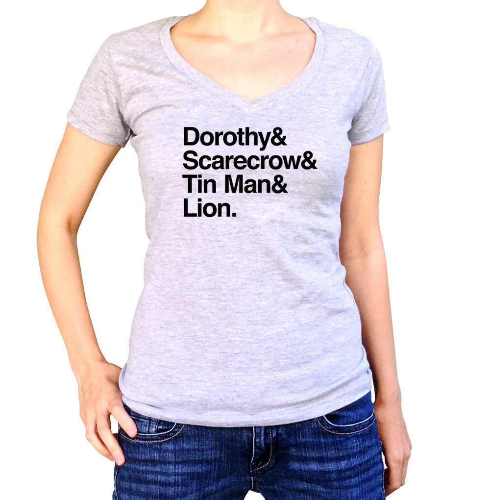 Women's Wizard of Oz Vneck T-Shirt