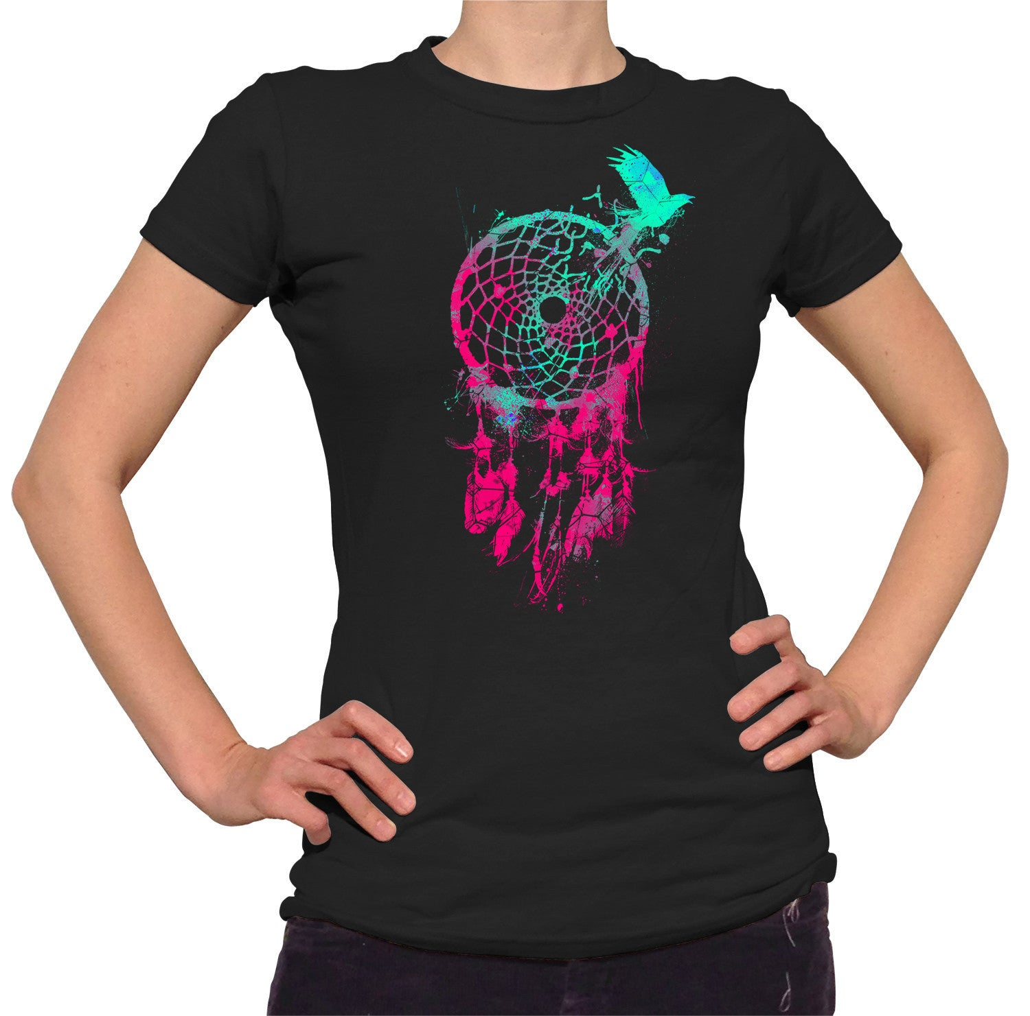 Women's DreamCatcher and Bird T-Shirt