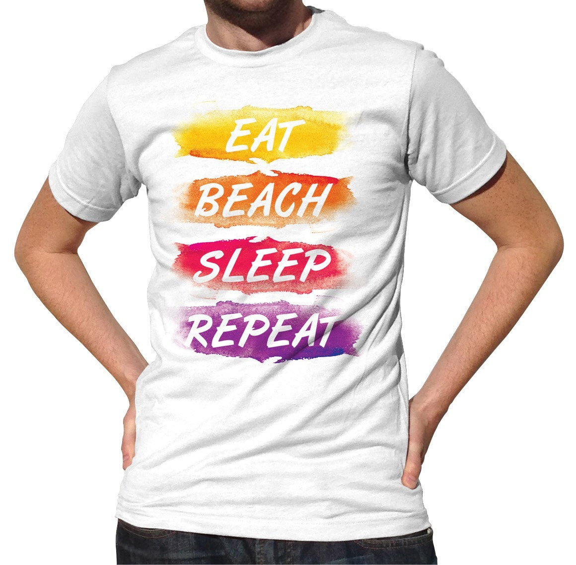 Men's Eat Beach Sleep Repeat T-Shirt