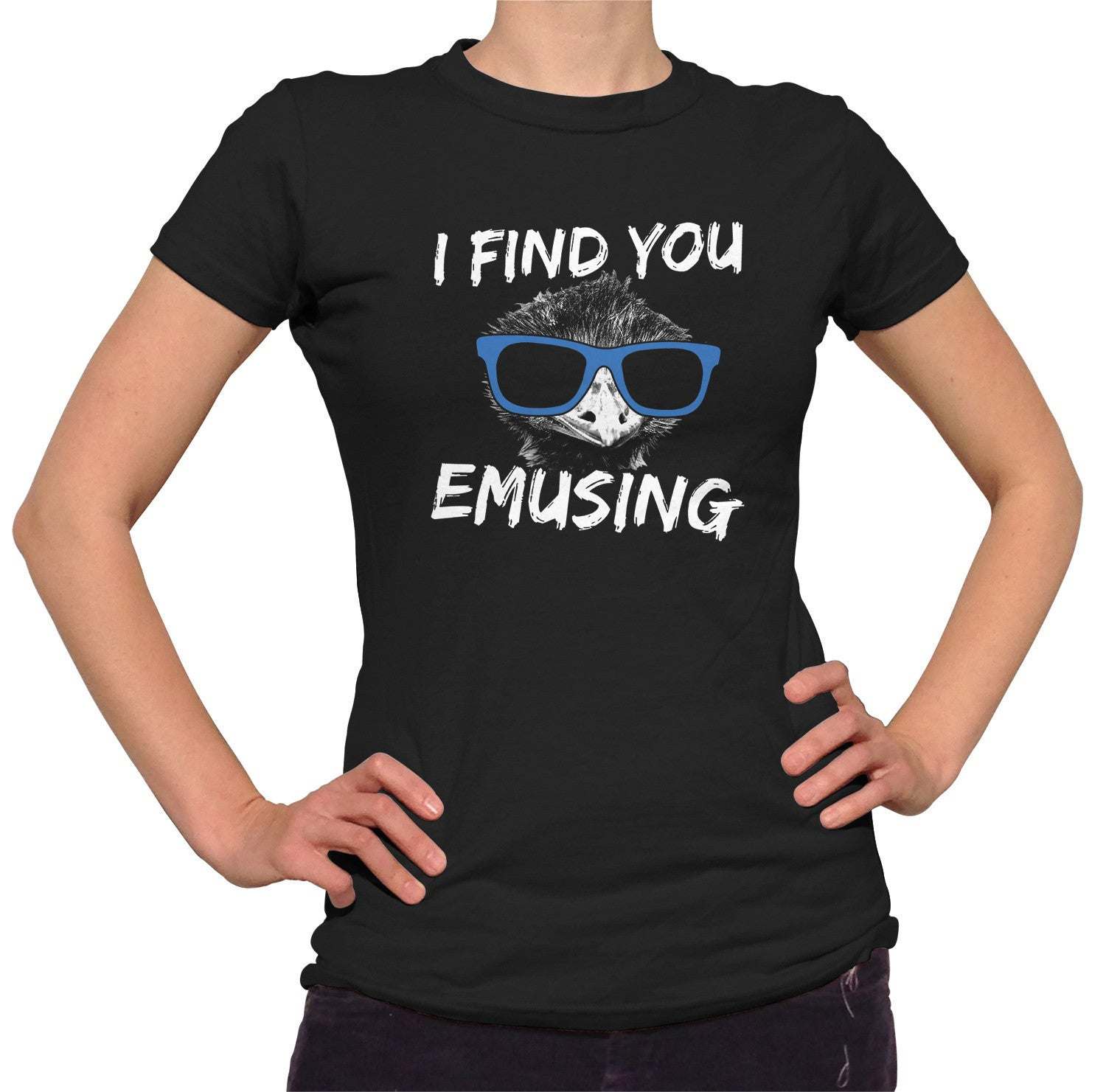 Women's I Find You Emusing T-Shirt
