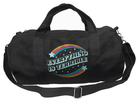 Everything is Terrible Duffel Bag