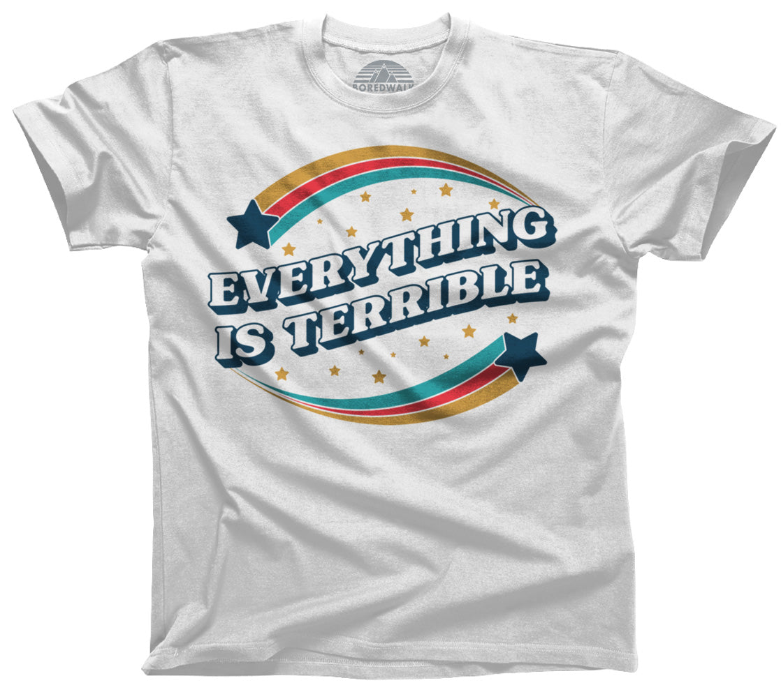 Men's Everything is Terrible T-Shirt