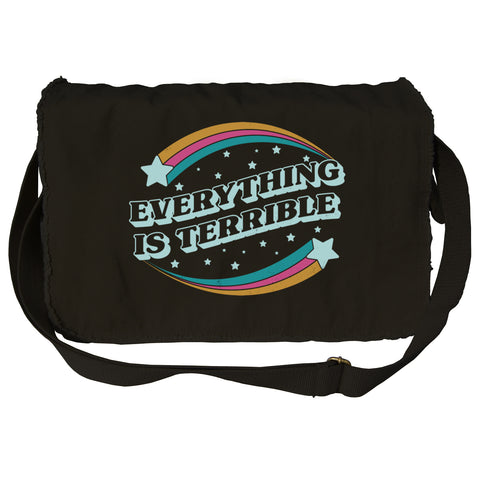Everything is Terrible Messenger Bag