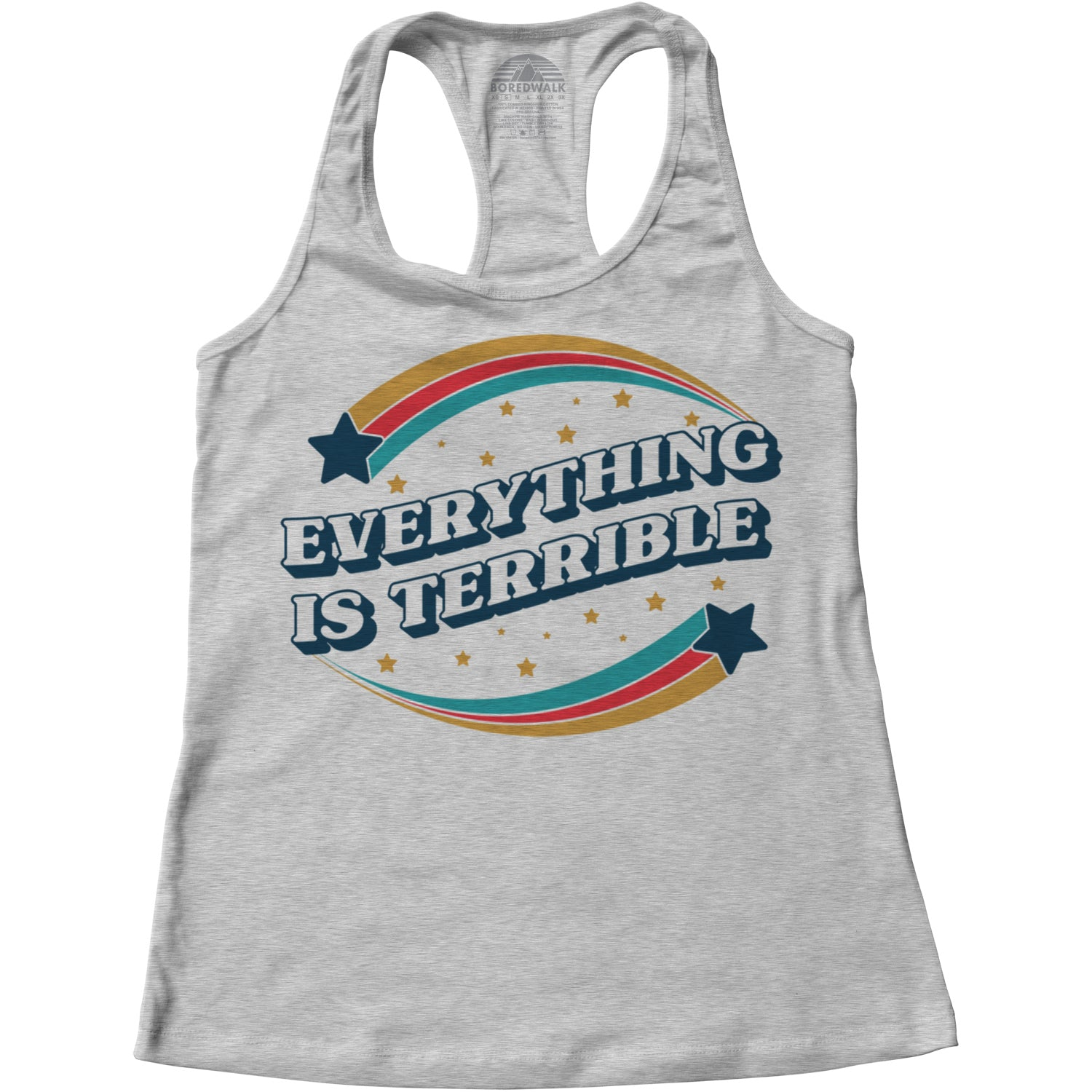 Women's Everything is Terrible Racerback Tank Top