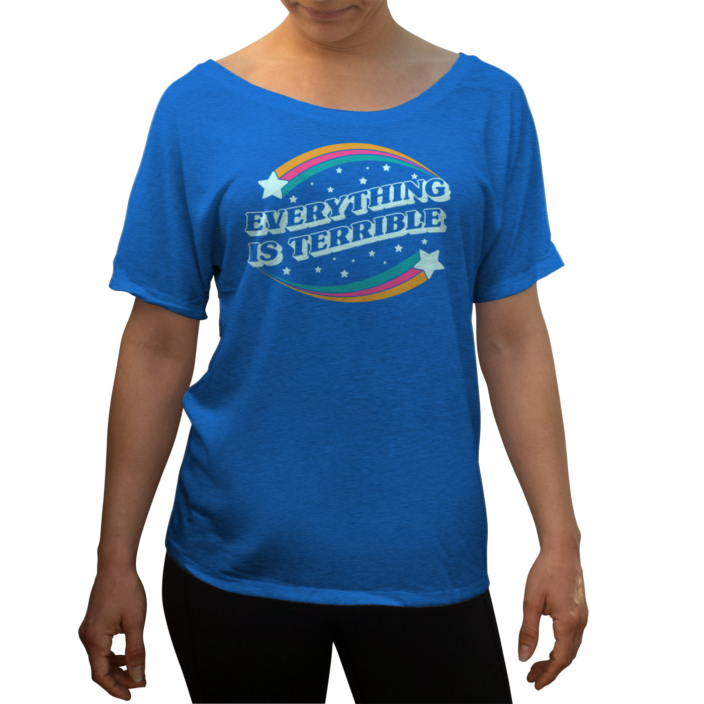 Women's Everything is Terrible Scoop Neck T-Shirt