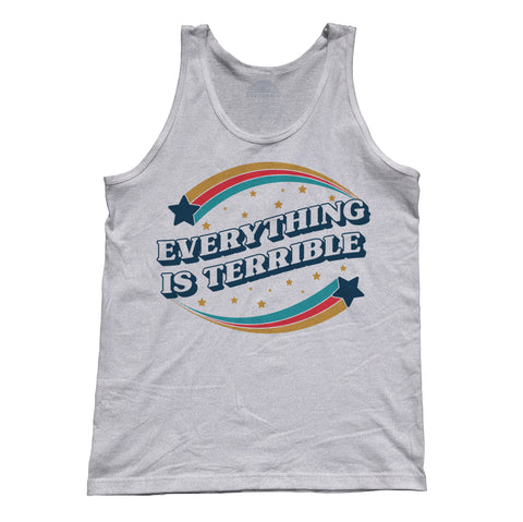 Unisex Everything is Terrible Tank Top