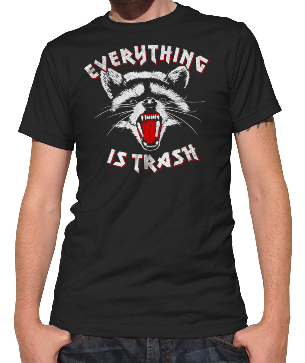 Men's Everything is Trash Raccoon T-Shirt