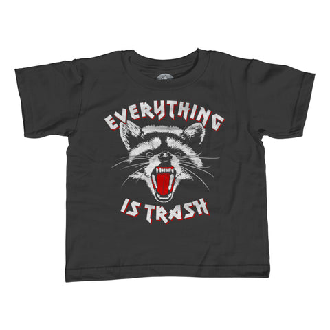 Boy's Everything is Trash Raccoon T-Shirt