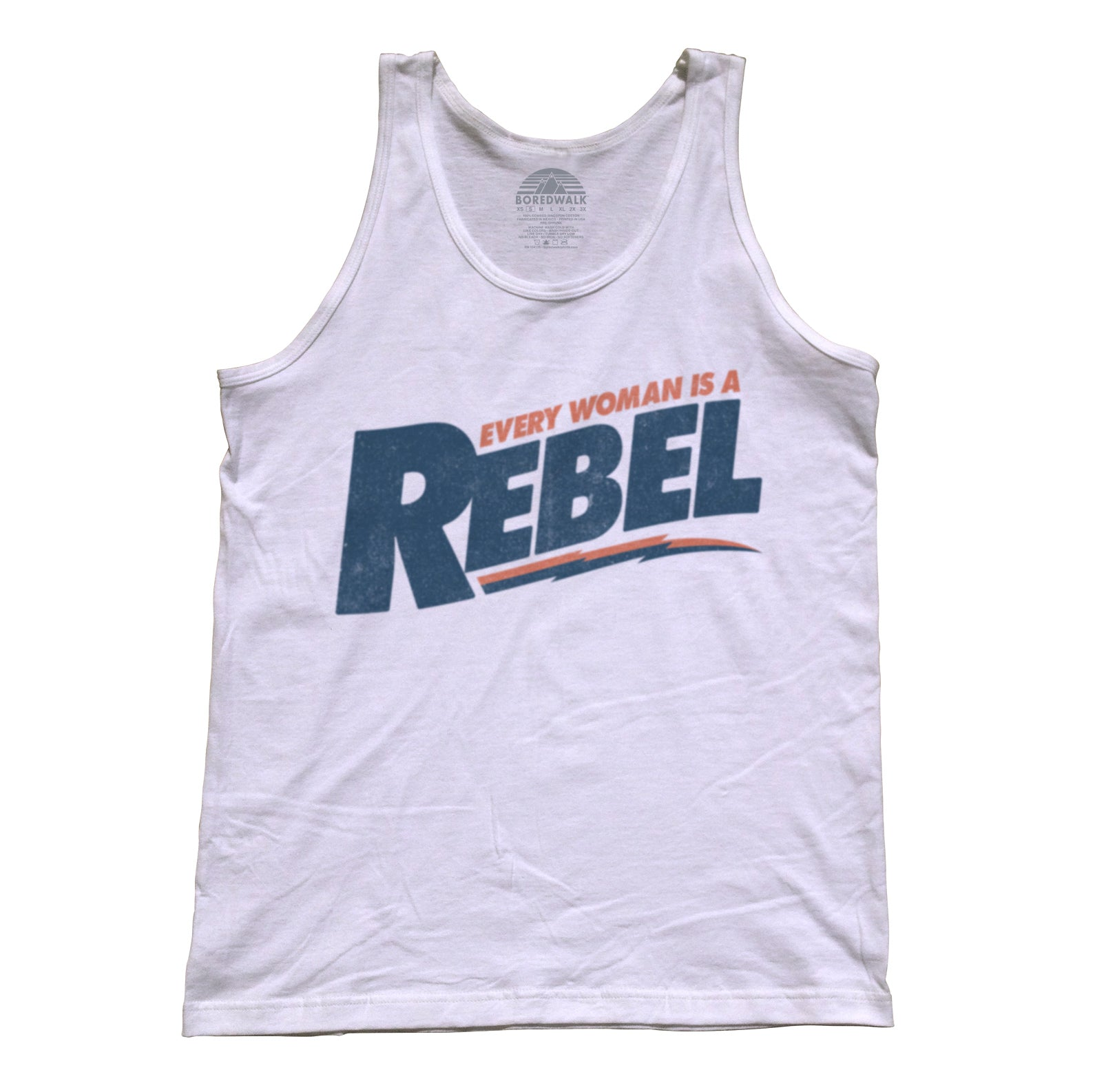 Unisex Every Woman is a Rebel Tank Top