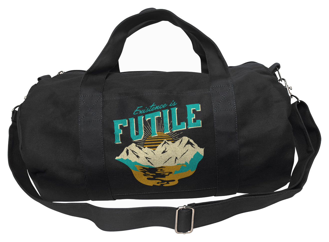 Existence is Futile Duffel Bag