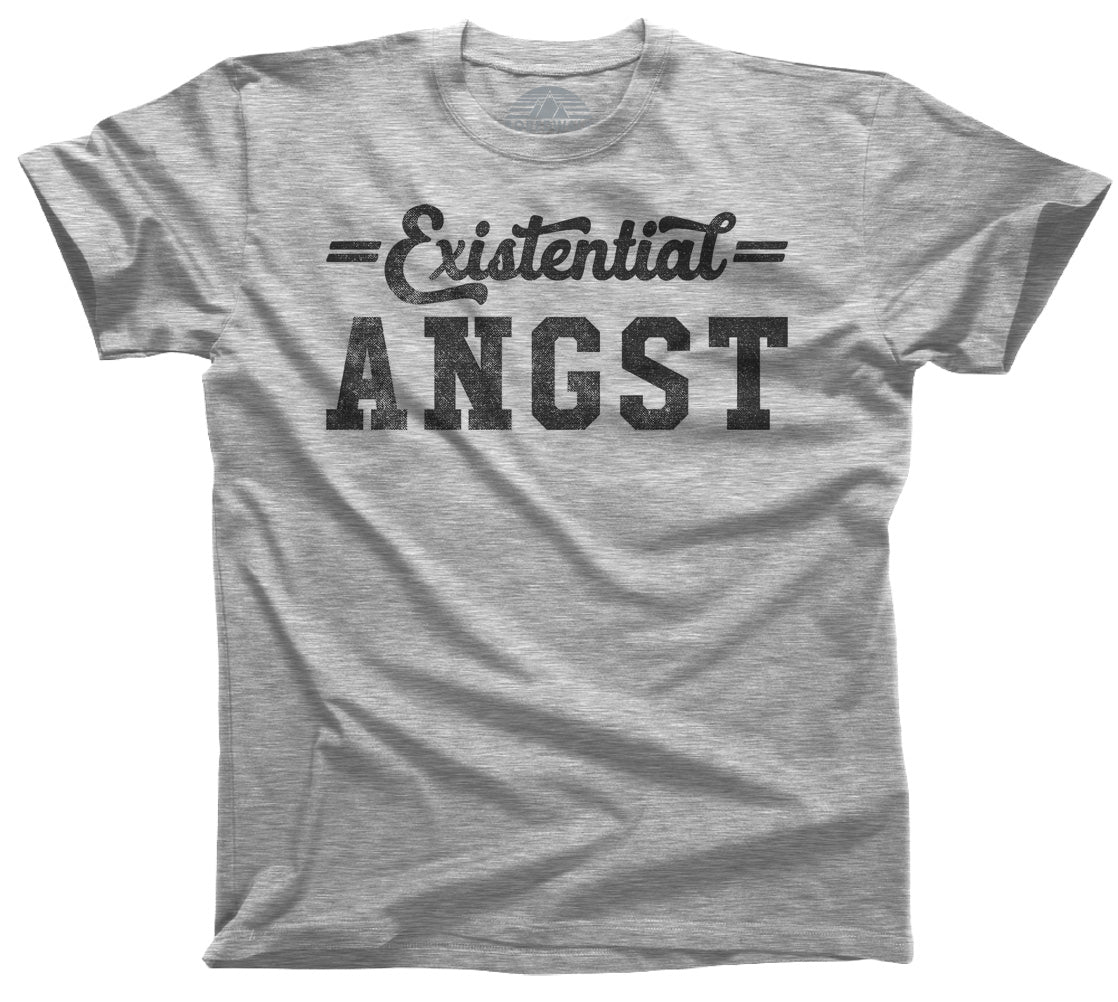Men's Existential Angst T-Shirt - Funny Existentialism Shirt