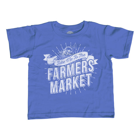 Boy's Take me to the Farmers Market T-Shirt