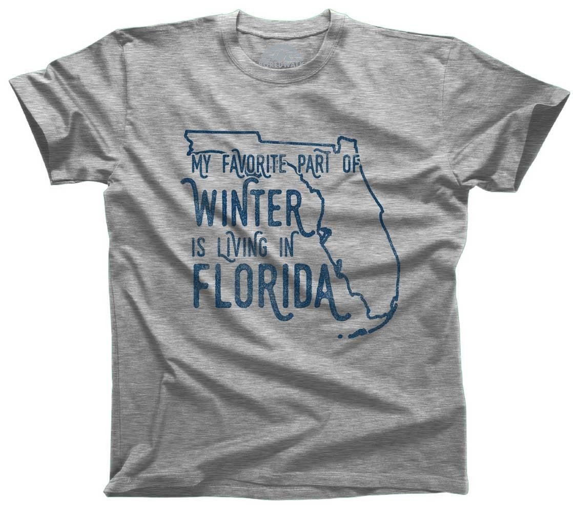 Men's My Favorite Part of Winter is Living in Florida Tshirt