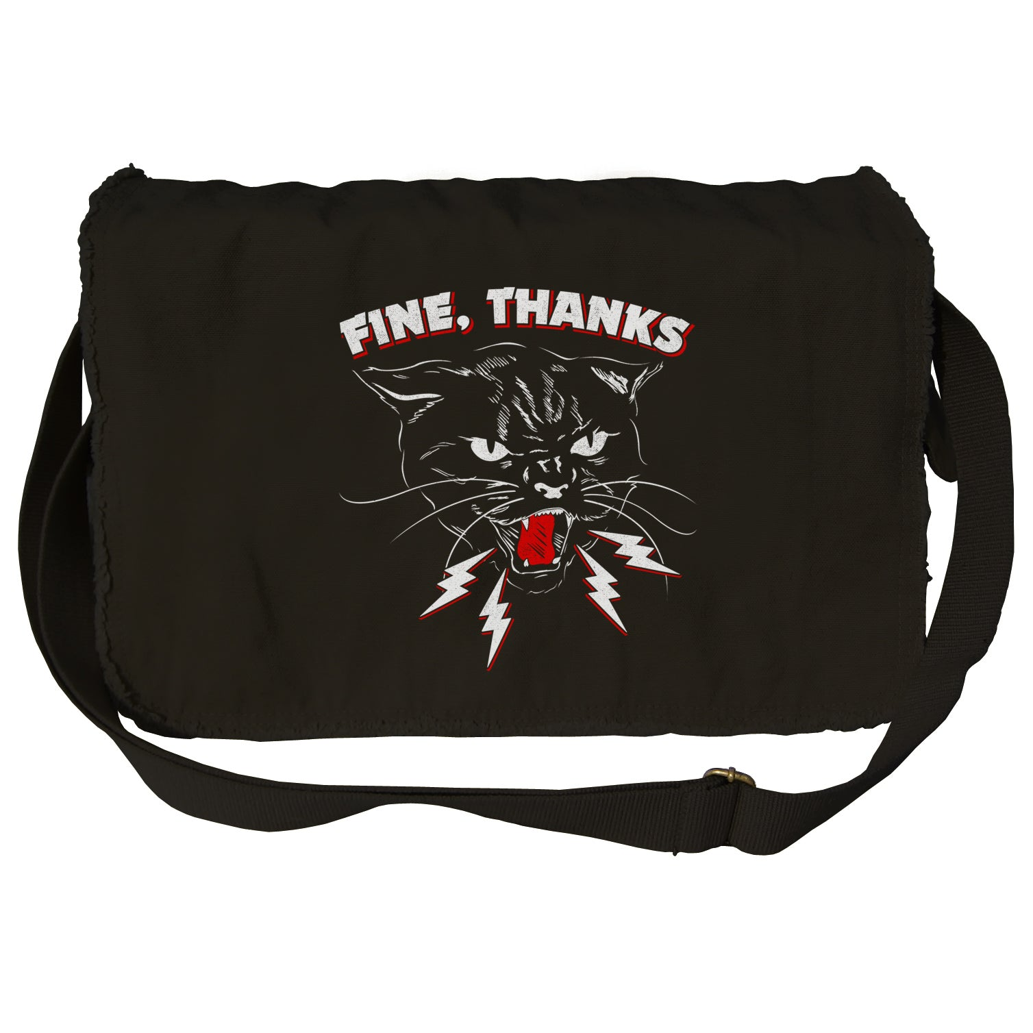 Fine Thanks Messenger Bag
