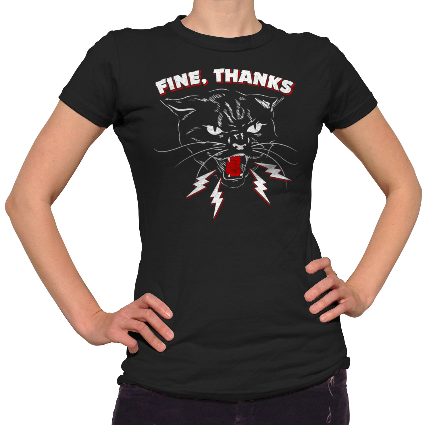 Women's Fine Thanks T-Shirt