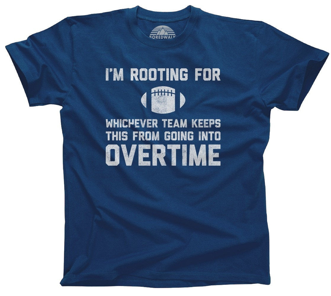 Men's Whichever Team Keeps This From Going To Overtime T-Shirt