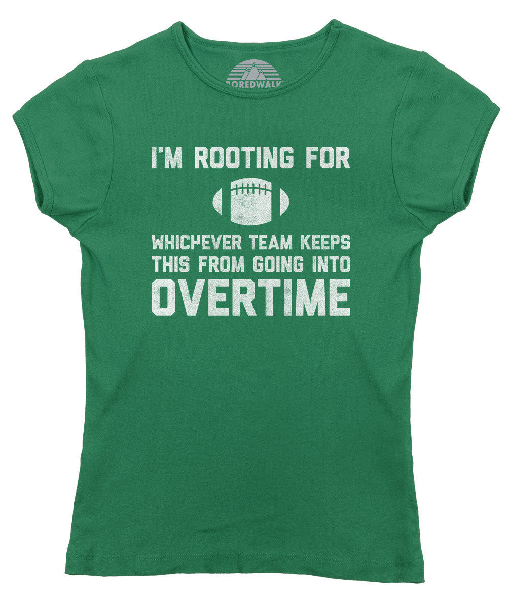Women's Whichever Team Keeps This From Going To Overtime T-Shirt