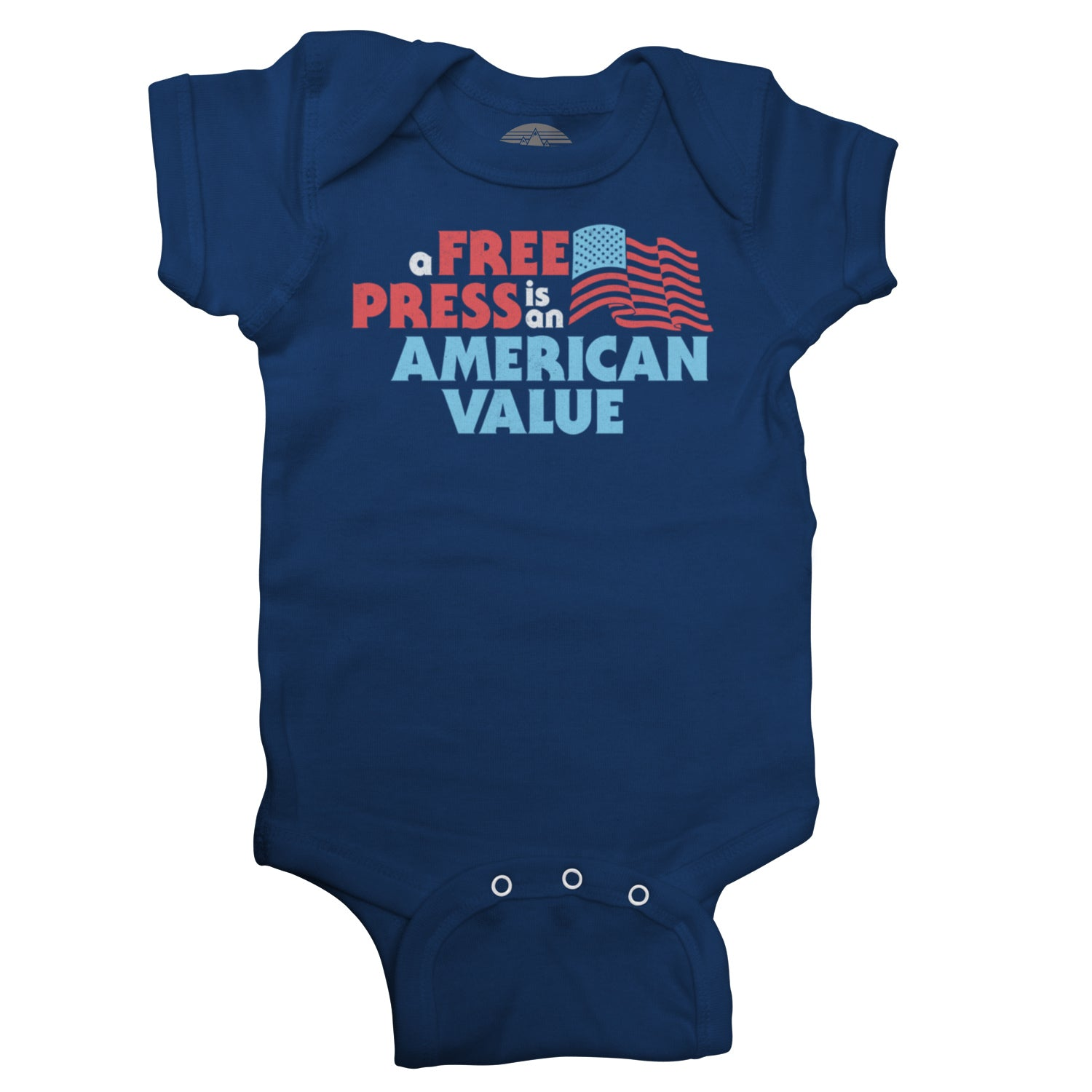 A Free Press is an American Value Infant Bodysuit - Unisex Fit