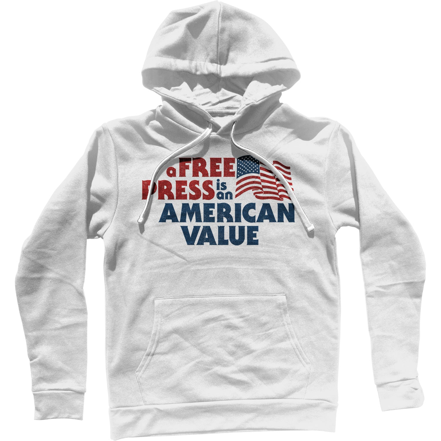 A Free Press is an American Value Unisex Hoodie