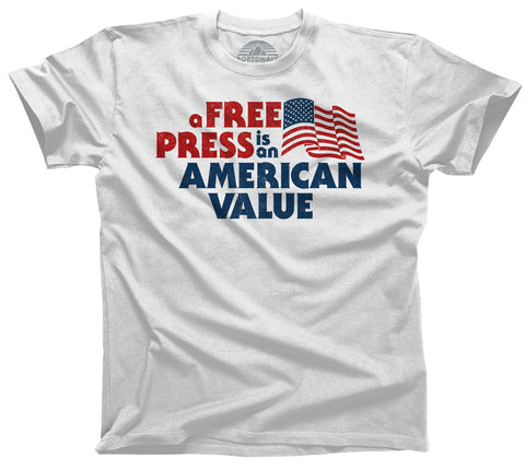 Men's A Free Press is an American Value T-Shirt
