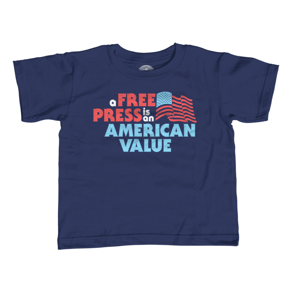 Boy's A Free Press is an American Value T-Shirt
