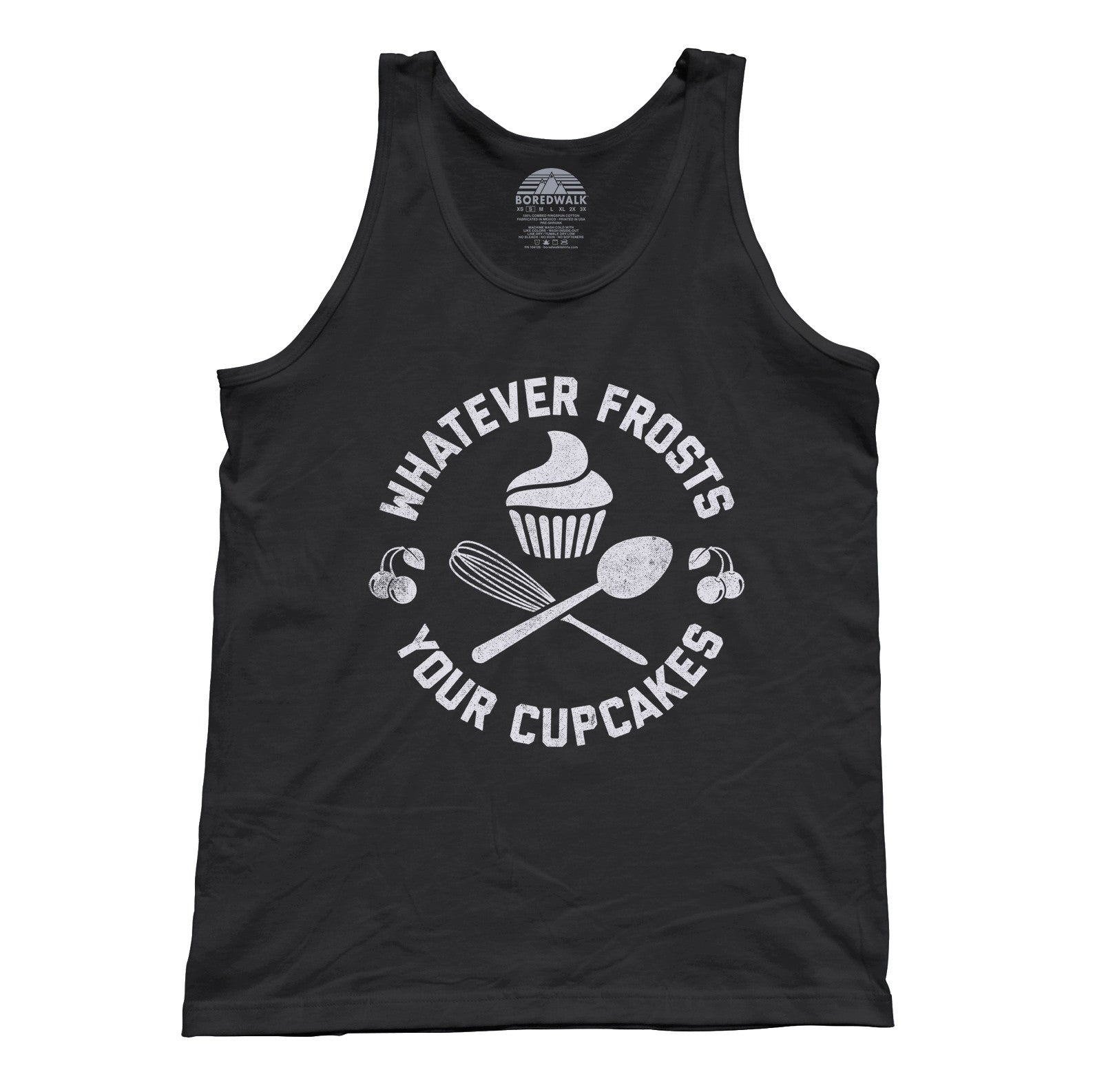 Unisex Whatever Frosts Your Cupcakes Tank Top