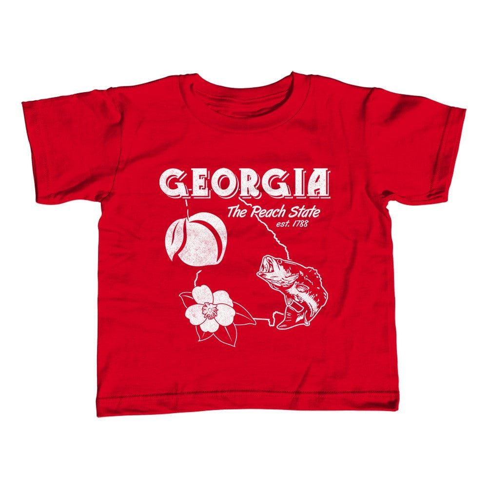 Girl's Georgia T-Shirt - Unisex Fit