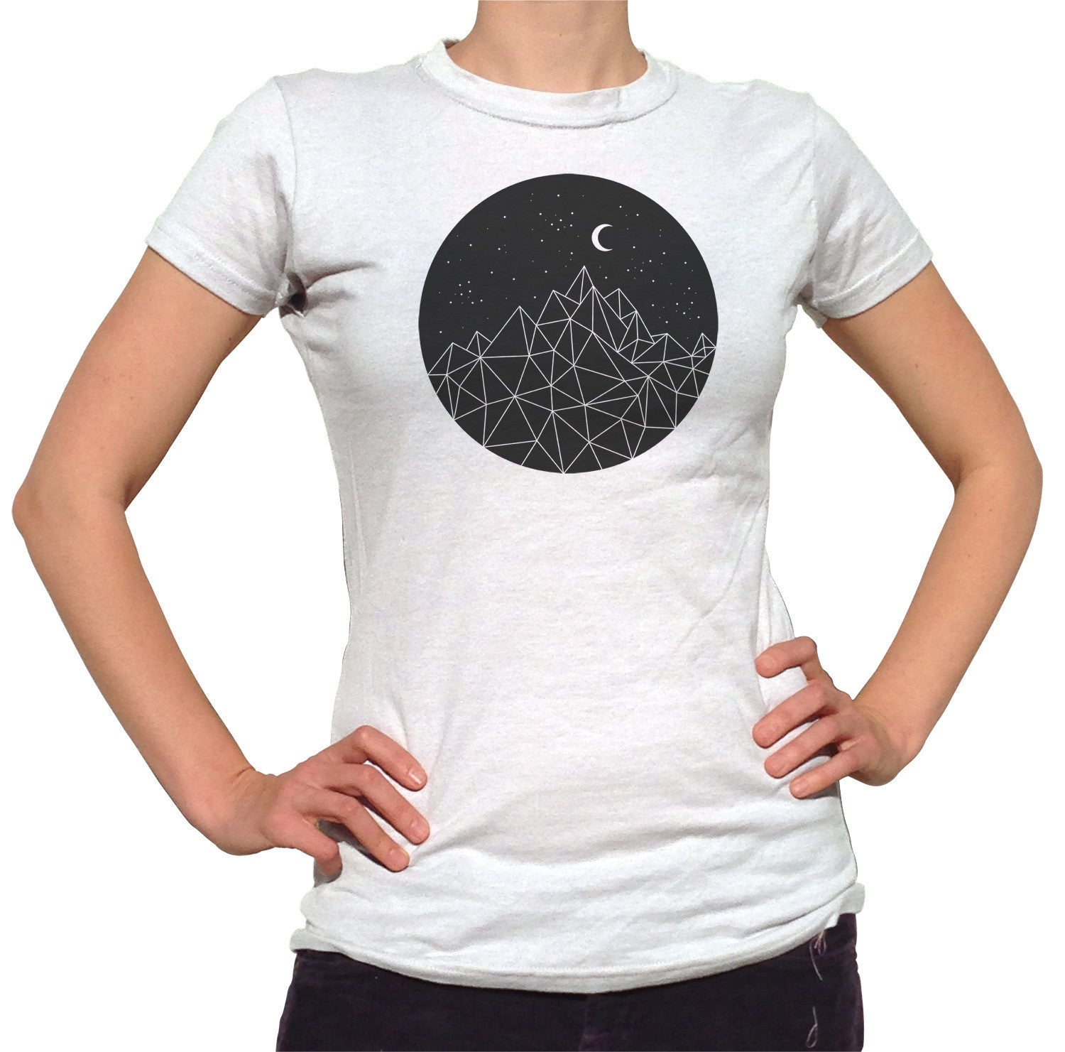 Women's Geometric Night T-Shirt