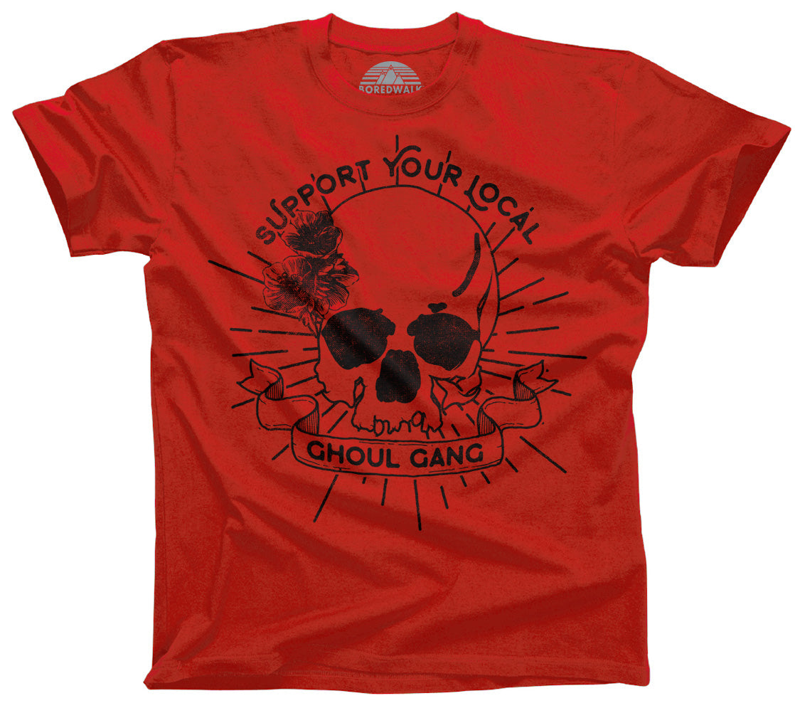 Men's Support Your Local Ghoul Gang T-Shirt