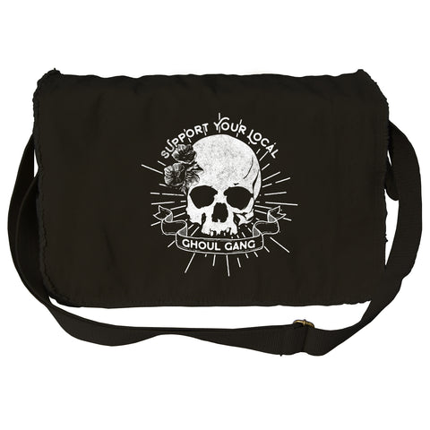 Support Your Local Ghoul Gang Messenger Bag