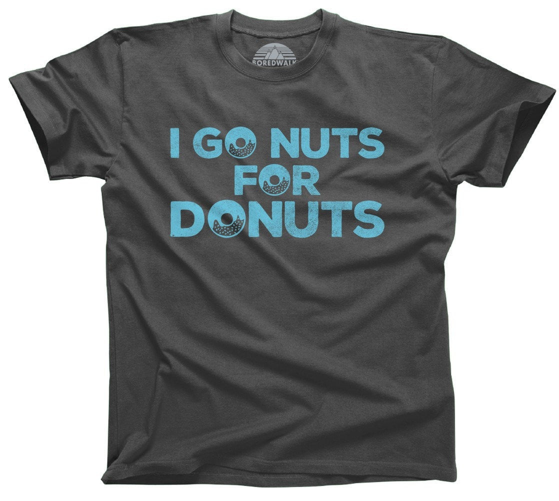Men's I Go Nuts For Donuts T-Shirt