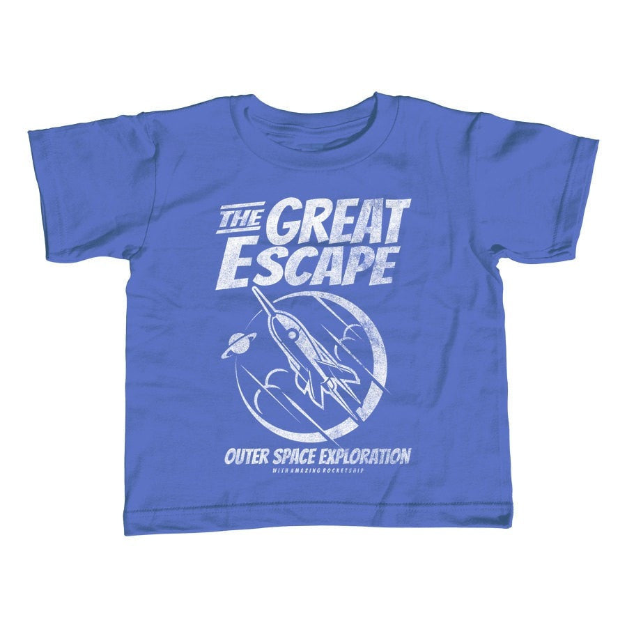 Girl's Great Escape Space Exploration T-Shirt - Unisex Fit Astronomy