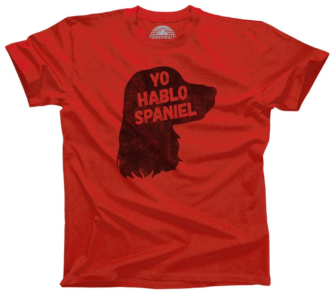 Men's Yo Hablo Spaniel T-Shirt