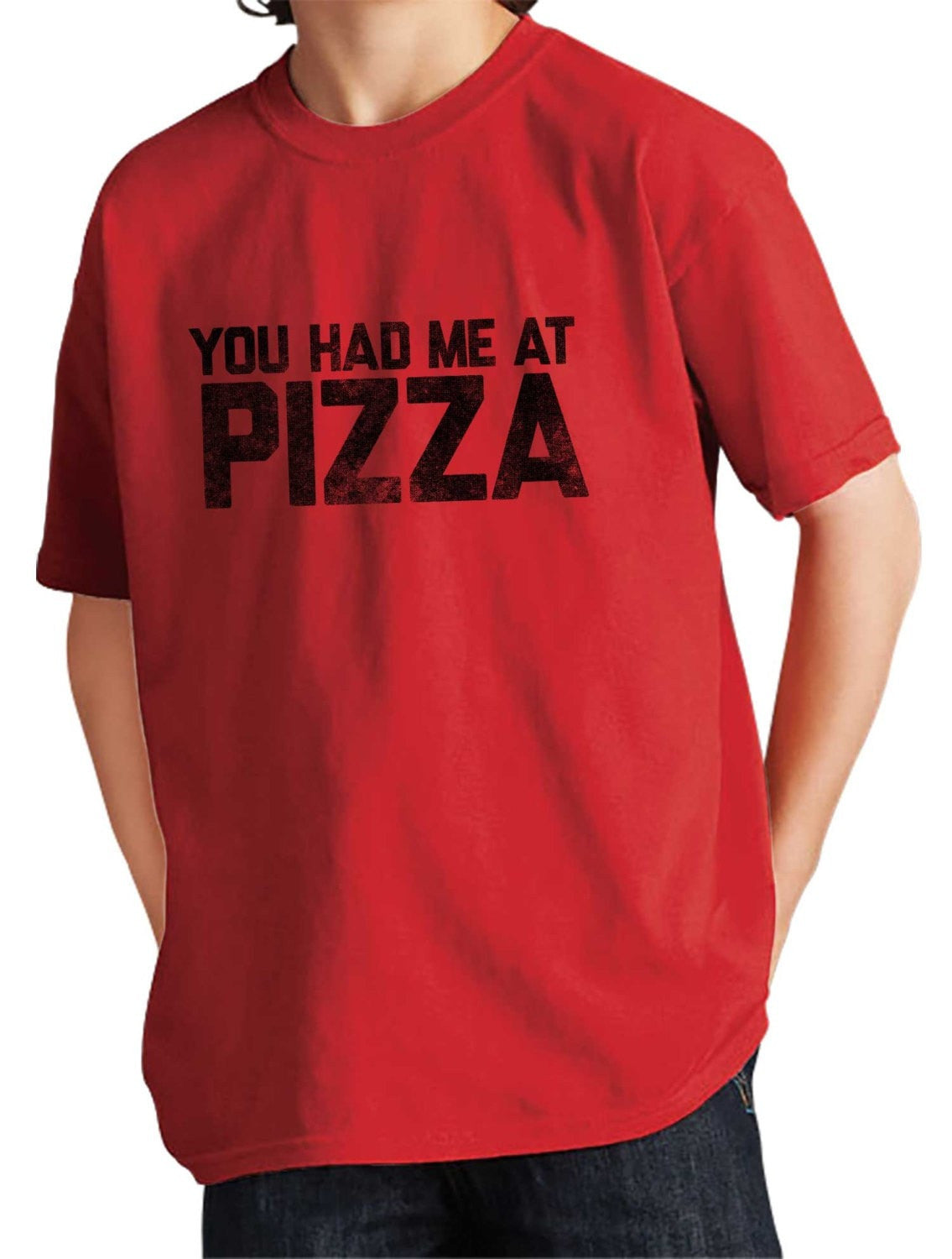 Boy's You Had Me At Pizza T-Shirt Hipster Foodie Tshirt