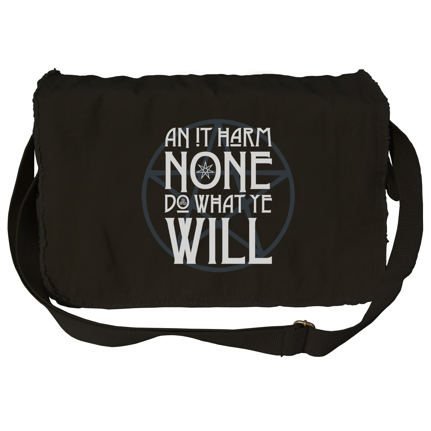 An it Harm None, Do What Ye Will Messenger Bag