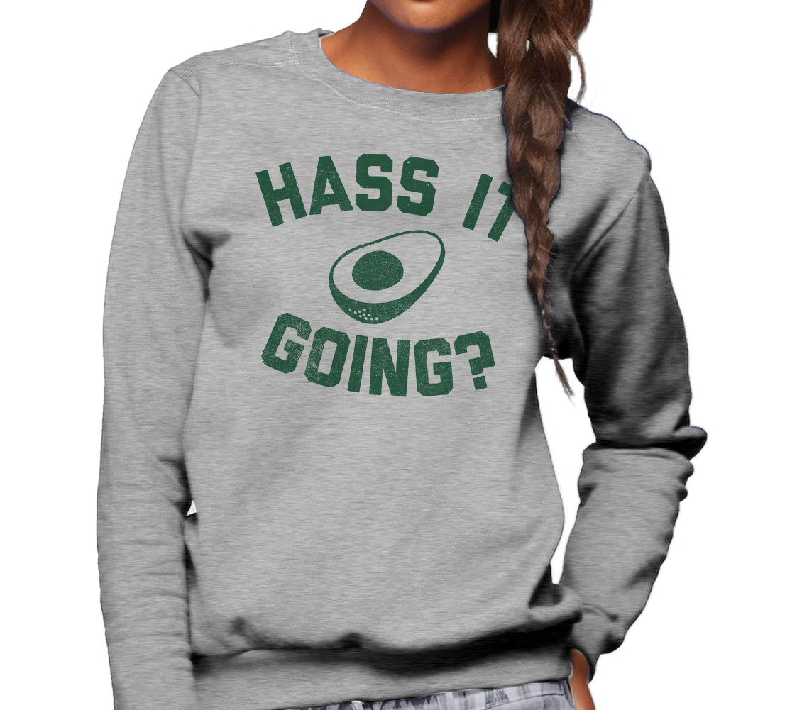 Unisex Hass It Going Avocado Sweatshirt