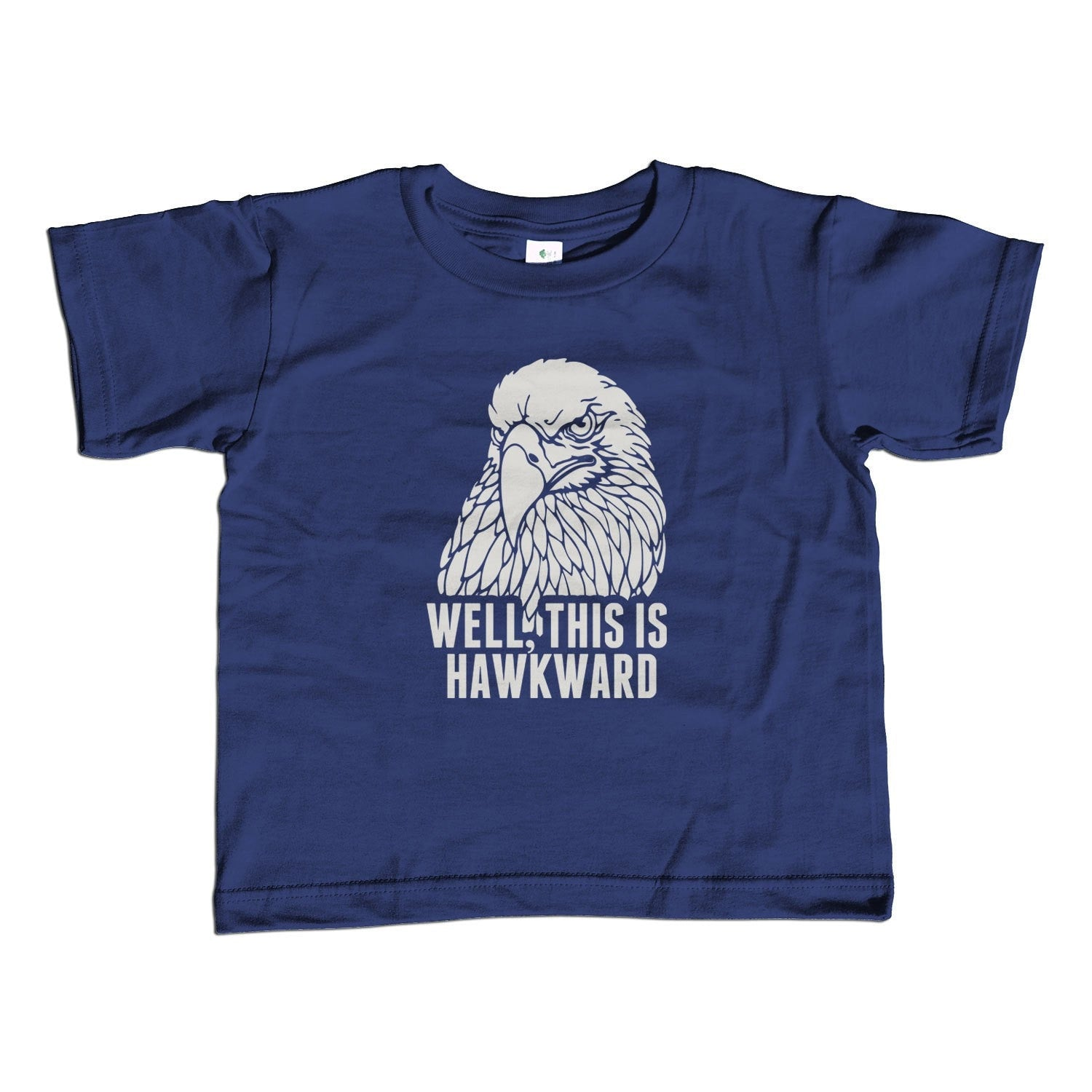 Girl's Well This is Hawkward T-Shirt - Unisex Fit Funny Bird Shirt