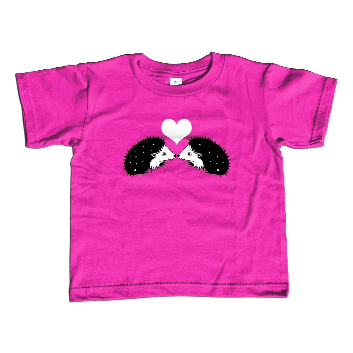 Girl's Hedgehogs in Love T-Shirt - Unisex Fit