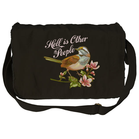 Hell is Other People Messenger Bag
