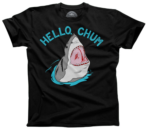 Men's Hello Chum Shark T-Shirt